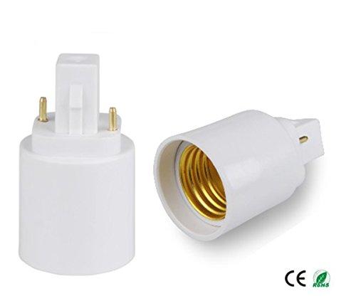 E Simpo G24d To E27 Adapter 2p Light Socket Adapter 21 8mm G24 To E26 E27 Gx24d To E27 Lamp