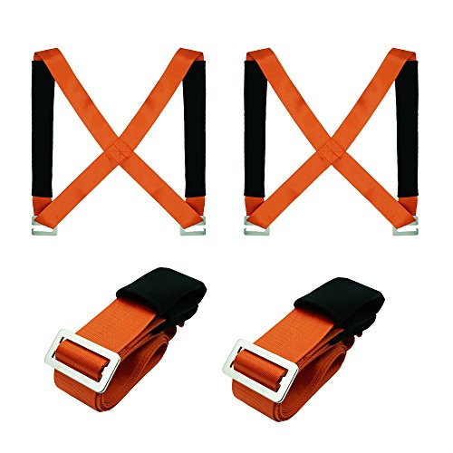 Tgy Lifting Moving Straps Carrying Belt Max Load 350 Pound