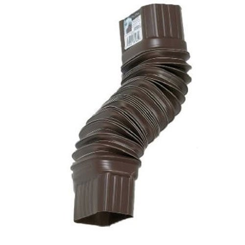 Flex Drain 85019 Downspout Extension Brown Sroodon